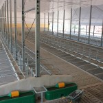 Vriesland Farm Ltd. Free Stall Facility with La Buvette Water Troughs