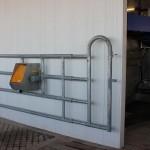 Vriesland Farm Ltd. Jourdain Gate with La Buvette Polystall